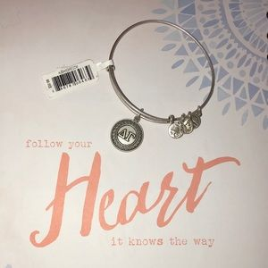Alex and Ani Delta Gamma Bangle Bracelet
